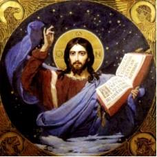 ХРИСТОС ВСЕДЕРЖИТЕЛ - диамантен гоблен IK 505001