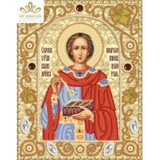 Комплект за бродиране с мъниста -Св.великомъченик Пантелеймон