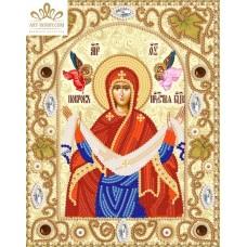 Комплект за бродиране с мъниста -Покров на Пресвета Богородица НИК- 5311