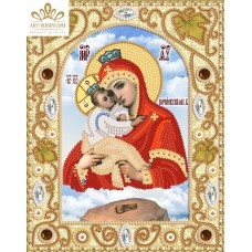 Комплект за бродиране с мъниста -Пресвета Богородица Почаевска