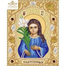 Комплект за бродиране с мъниста -Икона на Божията майка Трилетствующа НИК- 5314