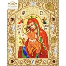 Комплект за бродиране с мъниста -Пресвета Богородица Милостива