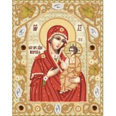 Комплект за бродиране с мъниста - Иверска икона на Света Богородица