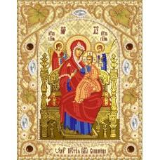 Комплект за бродиране с мъниста - Икона на Света Богородица Всецарица