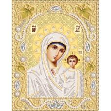 Комплект за бродиране с мъниста - Чудотворната икона на Света Богородица Казанска НИК- 5324