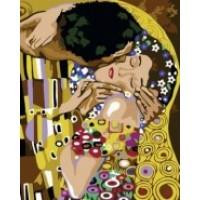 Комплект за рисуване по номера. Целувката на Густав Климт – GX 6065
