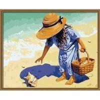 Морски съкровища- картина по номера GX 019
