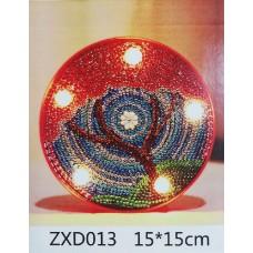 Лампа с диамантена мозайка 013