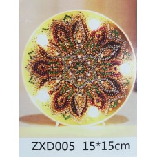 Лампа с диамантена мозайка 005