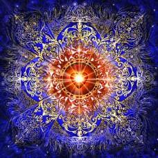 Мандала за любов и счастие- диамантен гоблен MD 404031
