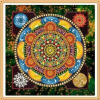 Мандала за любов и счастие - диамантен гоблен MD 404043