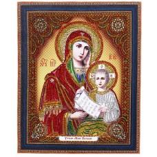 """TC 110 Диамантен гоблен Иконата на Божията Майка """"Утоли моята печал"""""""