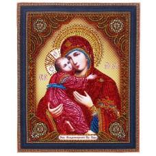 TC 104 Диамантен гоблен икона Девата с младенеца