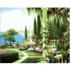 Рисуване по номера Лятна градина