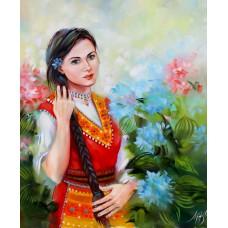 Българска девойка -GX 37956