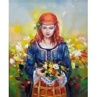 След 13.12.2020 Момиче с цветя-GX 36524