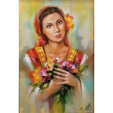 След 13.12.2020 Девойка с полски цветя-GX 36529