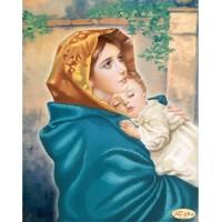 Мадонна Феручи - Диамантен гоблен LD 405062