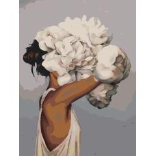 Момиченце в цветя  EX 2422