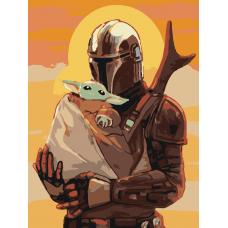 Картина по номера - Звездни войни ZE 092