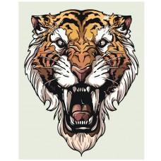 Картина по номера - Тигър ZE-194