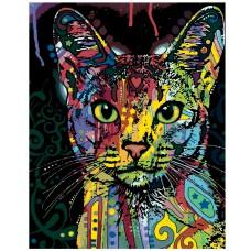 Картина по номера - Котка дъга Z-188