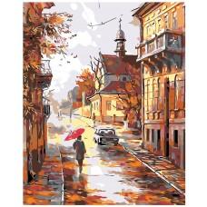 Картина по номера - Есенна разходка ZG-024