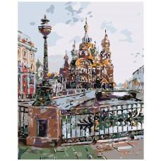 Картина по номера - Москва Z-030