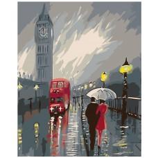Картина по номера -  Вечерният Лондон  ZG-083