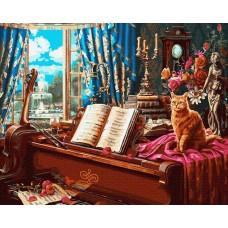 Картина по номера -Музикална стая  GX 34672