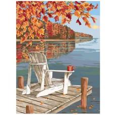 Картина по номера - Тишина на езерото ZE-185
