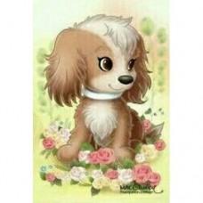 Картина по номера - Куче ZE 3072