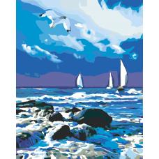 Картина по номера - Море ZG-0009