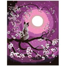 Картина по номера - Котка на дървото ZG-0012