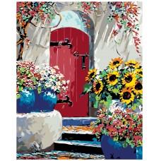 Картина по номера -  Лятна градина  ZG-0014
