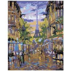 Картина по номера -  Париж ZG-0026