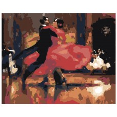 Картина по номера -  Танц  ZG-0027