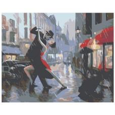 Картина по номера -  Танц  ZG-0032