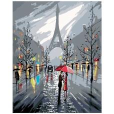 Картина по номера -  Париж ZG-0037
