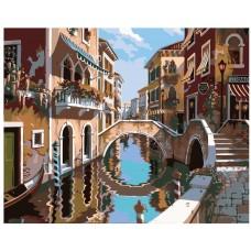Картина по номера -  Венеция ZG-0045