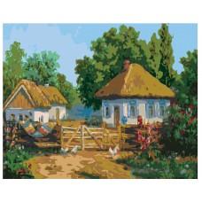 Картина по номера -  Къща  ZG-0053