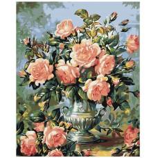 Картина по номера -  Цветя  ZG-0065