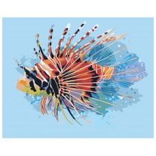 Картина по номера -  Риба  ZG-0066
