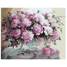 Картина по номера - Цветя  ZG-0068