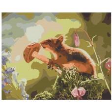 Картина по номера -  Мишка ZG-0076