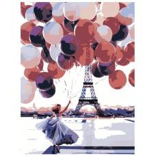Картина по номера - Балони ZE-3114