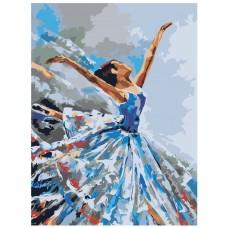 Картина по номера - Балерина ZE-3115