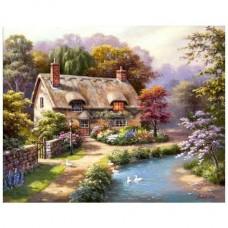 PZ 304114 диамантен гоблен - Селската къща
