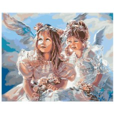 Картина по номера - Ангели ZG-0123