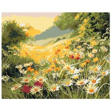 Картина по номера -  Диви цветя ZG-0127